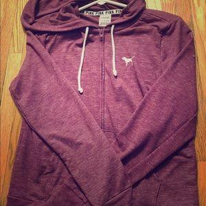Victoria secret pink maroon hoodie